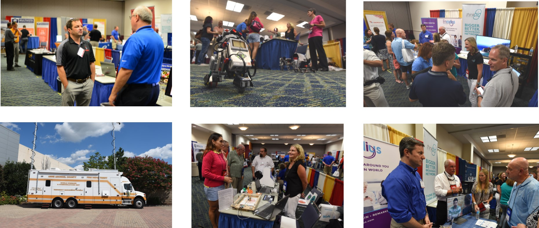 Tech Expo Photo Collage
