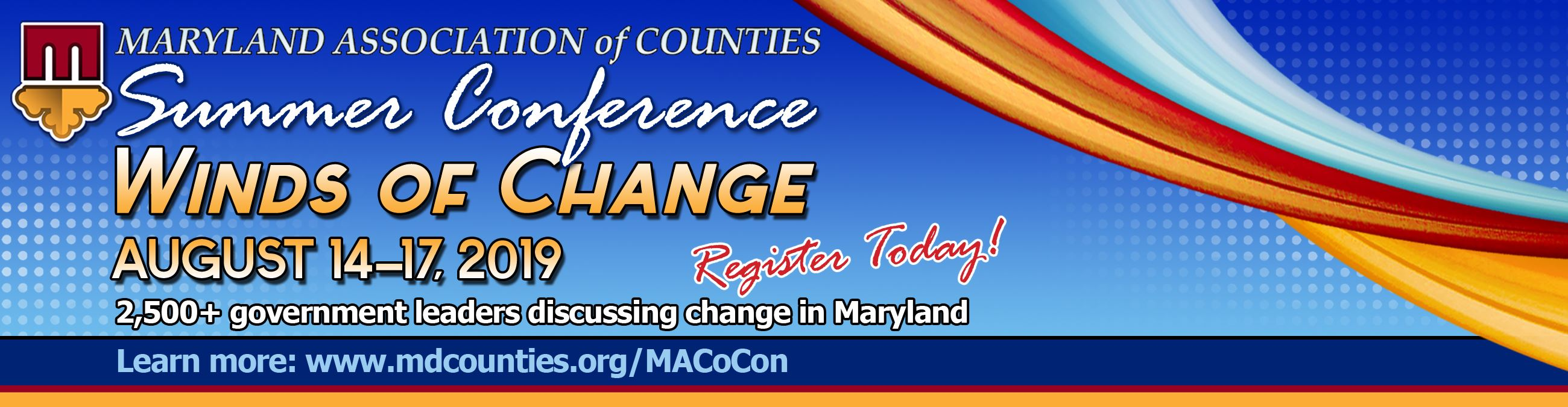 2019 MACo Summer Conference