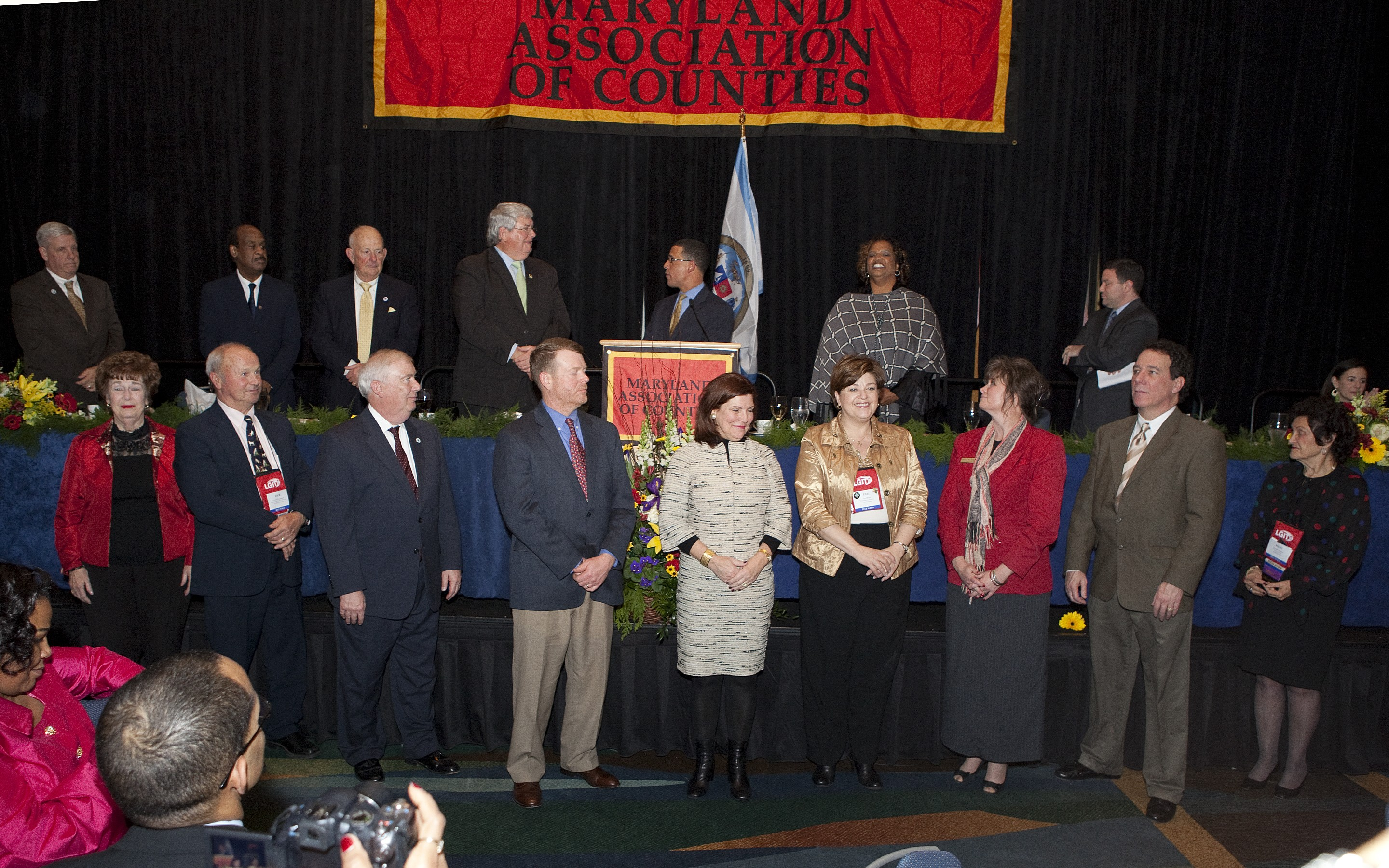 The 2012 MACo Board of Directors and Officers.