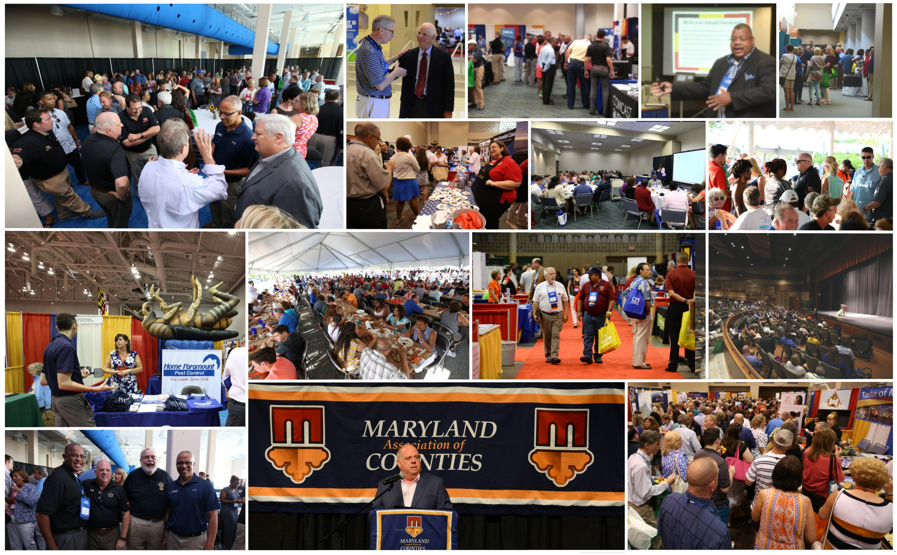 2018 Summer Conference Photo Collage