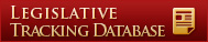 Legislative tracking Database